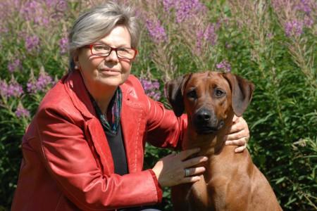 RR-Spezialrichterin Gisa Schicker mit BUYUNI (Foto Birgit Kraffczyk)