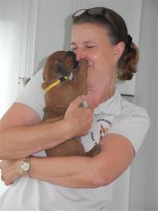 Züchterin Stefani Westphal vom Kennel UMLANI