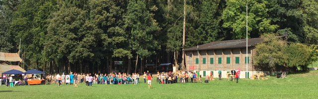 Küsnachter Waldtag 2018 mit Schweisshunden und der Wulp-Hundegruppe